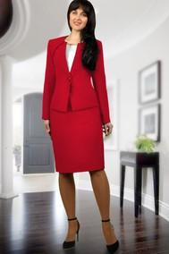 Модель 877-2 красный МиА Мода