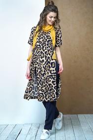 Модель 3431 леопард+тёмно-синий Fantazia Mod