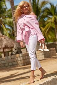 Модель 2089 розовый+белый Vesnaletto