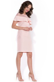 Модель koli Розовая пудра Rylko Fashion