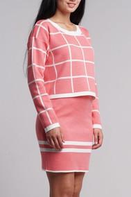 0035 розовый + белый Nat Max
