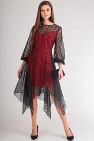 Модель 0847 красный+черный Viola Style