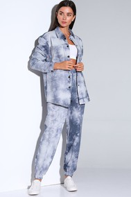Модель Af-157   Синий  Andrea Fashion