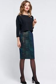 Модель 1191 темно-синий+бирюза Arita Style-Denissa