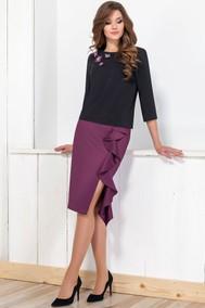 Модель 1161 чёрный+фиолетовый Deesses