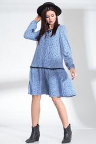 Модель 13900 небесно-голубой (горох) Sandyna