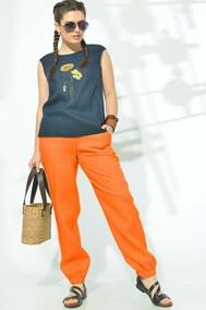 Модель 719-005 темно-синий+оранжевый Mali