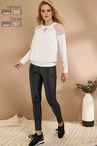 Модель 2986 светлые тона  Niv Niv Fashion
