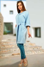 799-3 синий МиА Мода