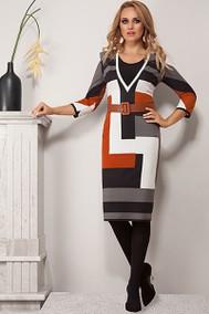 Модель 1072-1 белый+черный+оранжевый Diva