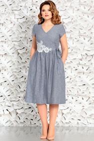 Модель 4597 серо-синий оттенок Mira Fashion