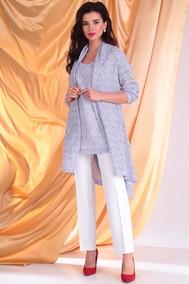 Модель 2357-1 лаванда+ молочный  Мода-Юрс