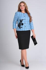 Модель 697 голубой с черным Anastasia MAK