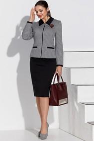 Модель 4239 серый+черный Lissana