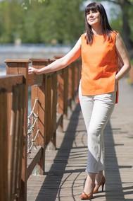 Модель 719-033 оранжевый+натуральный Mali