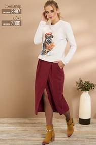 Модель 2987 светлые тона «Французский бульдог Niv Niv Fashion