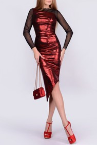 Модель ny1554-1 красный, черный La Cafe by P.Ch.