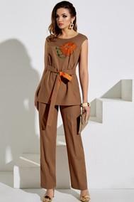 Модель 3992 капучино+оранжевый Lissana