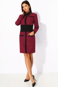 Модель 1188-2 бордовый+черный МиА Мода