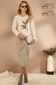 Модель 3023 светлые тона  Niv Niv Fashion