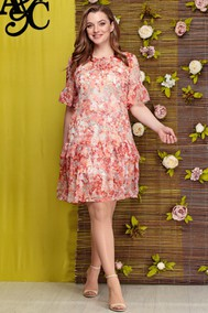 Модель 283 розовые цветы Angelina & Company