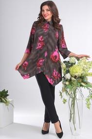 Модель 2413 розовые цветы Мода-Юрс