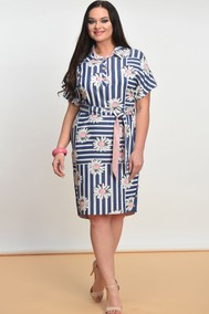 Модель 1321 синий+белый Lady Style Classic