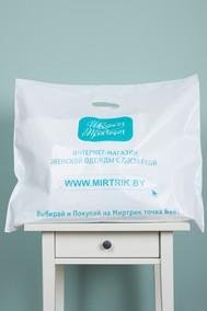 Модель Пакет фирменный Белый Швейная традиция