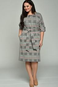 Модель 1525-3 серый+красный+бирюза Lady Style Classic