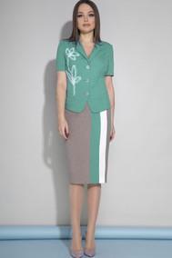 Модель 1954 зелёный, какао JeRusi