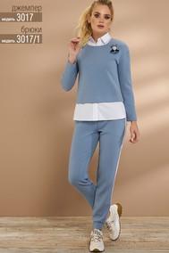 Модель 3017 голубой Niv Niv Fashion