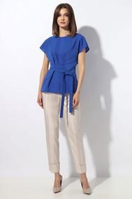 Модель 1248-2 с синей блузкой МиА Мода