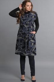 Модель 1156 черный+синий+серый Lady Style Classic