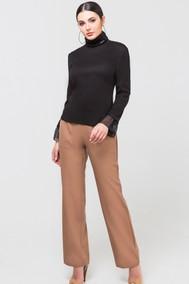 Модель 233 черный+светло-коричневый Foxy fox