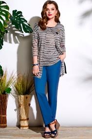Модель 3691 серый+синий Lissana