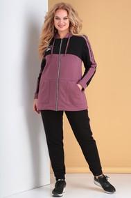 Модель 300 пепельно-розовый+черный Тэнси