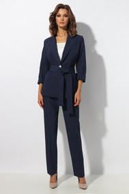 Модель 1278 темно-синий в белую полоску МиА Мода
