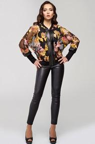 Модель 1113 черный+цветы Arita Style-Denissa
