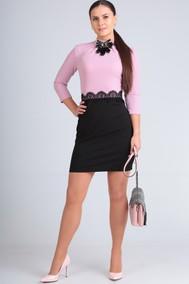 Модель 6890 розовый, чёрный Lans Style