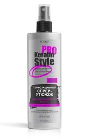 Термозащитный спрей-утюжок для выпрямления волос