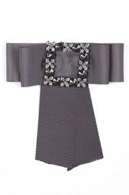 Модель Брошь 57002 темно-серый Fashion Jewelry