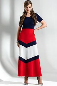 Модель 1283 синий+красный+белый Diva