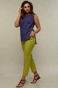 Модель 721-036 фиолетовый+салатовый Mali