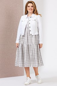 Модель 4999-3 белый Mira Fashion