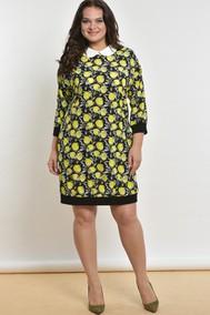 Модель 1553 Черный+желтый Лимоны Lady Style Classic