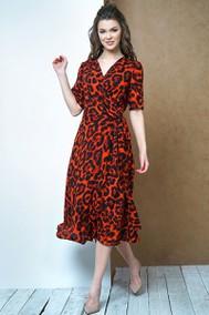 Модель 3387 красный леопард Fantazia Mod