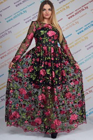 Модель 1666 черный  с розовым ЛЮШе