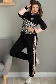 Модель 714 черный+хаки+розовый Галеан Cтиль