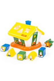 64264 Логический домик Миффи с 6 кубиками №1