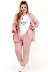Модель 1295 нежно-розовый+белый Pretty